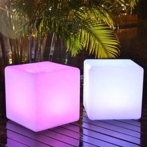 Куб светящийся LED, 60*60*60 см., разноцветный (RGB), IP65, 220V