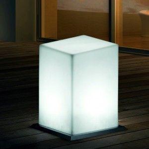 Напольный светильник LED Plato 4, светодиодный, белый свет, IP65
