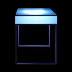 Стол барный LED Cana, светодиодный, высота 110 см., разноцветный (RGB), с аккумулятором