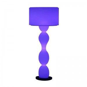 Светильник напольный (торшер) LED Twist, высота 139 см., светодиодный, разноцветный (RGB), IP65