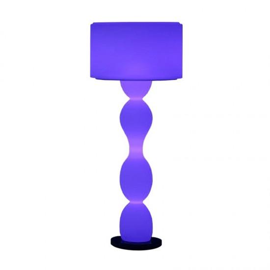 Светильник напольный (торшер) LED Twist, высота 139 см., светодиодный, разноцветный (RGB), пылевлагозащита IP65