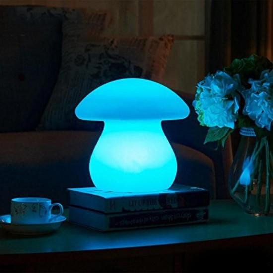 Световая фигура LED Mushroom (Гриб), светодиодная, разноцветная (RGB), пылевлагозащита IP68, встроенный аккумулятор