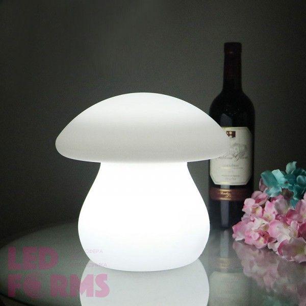 Световая фигура LED Mushroom (Гриб), светодиодная, одноцветная (тёплый белый), пылевлагозащита IP65, 220V