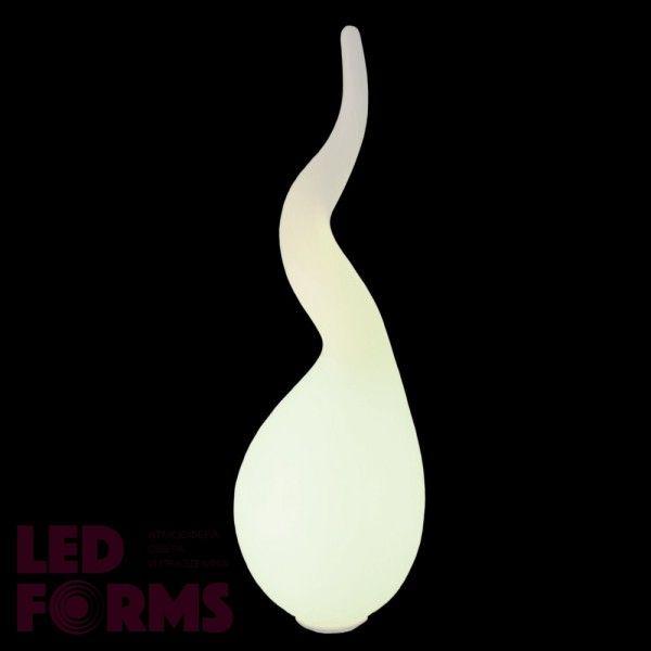 Светильник напольный (торшер) LED Spirit L Bright, высота 112 см., светодиодный, цвет тёплый белый, IP65