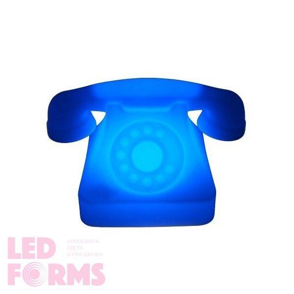 Световая фигура LED Phone (Телефон), светодиодная, разноцветная (RGB), пылевлагозащита IP65