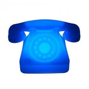 Световая фигура LED Phone (Телефон), светодиодная, разноцветная (RGB), IP65