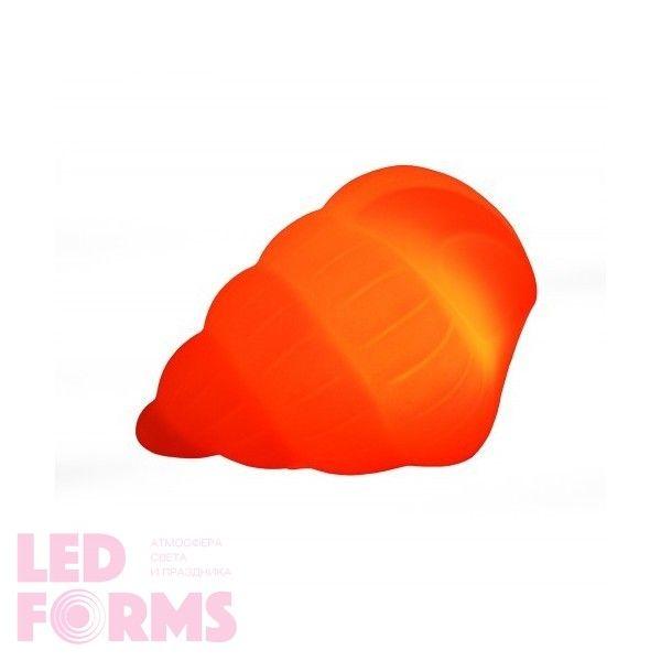 Световая фигура LED Shell 1 (Ракушка), светодиодная, разноцветная (RGB), пылевлагозащита IP44, встроенный аккумулятор