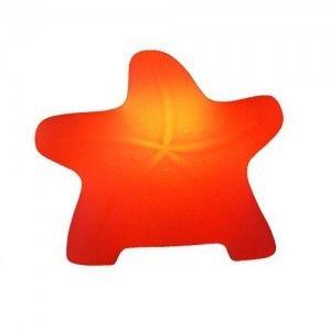 Световая фигура LED Starfish 1 (Морская звезда), светодиодная, разноцветная RGB, IP44, с аккумулятором