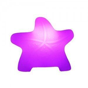 Световая фигура LED Starfish 1 (Морская звезда), светодиодная, разноцветная (RGB), пылевлагозащита IP44, встроенный аккумулятор