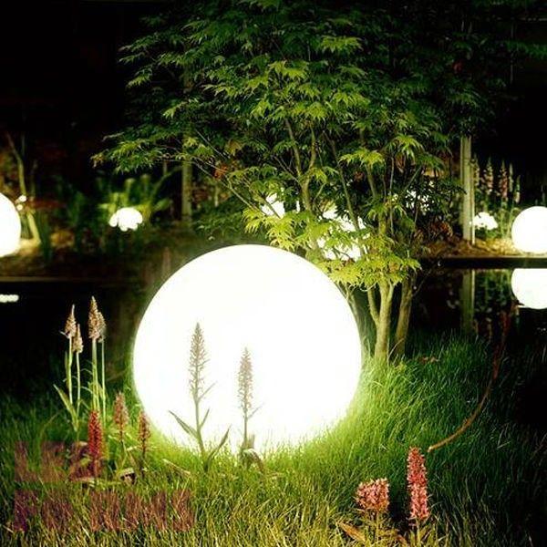Шар светящийся LED, диам. 80 см., цвет тёплый или холодный белый, пылевлагозащита IP65, 220V