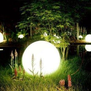 Светящийся шар LED Ball 80 см., одноцветный белый, IP65