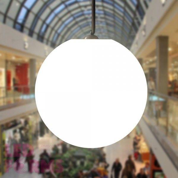 Шар подвесной светящийся LED, диам. 50 см., цвет тёплый или холодный белый, пылевлагозащита IP65, 220V