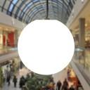 Подвесной светящийся LED Шар 50 см., светодиодный светильник, белый свет, IP65