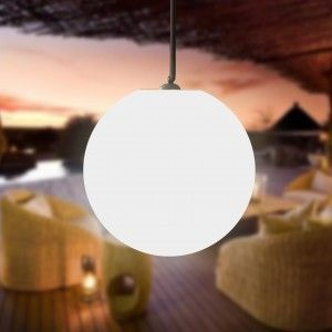 Подвесной светящийся LED Шар 30 см., светодиодный светильник, белый свет, IP65