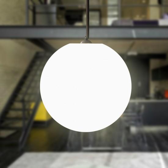 Шар подвесной светящийся LED, диам. 35 см., цвет тёплый или холодный белый, пылевлагозащита IP65, 220V