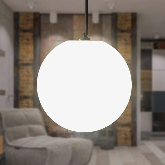 Шар подвесной светящийся LED, диам. 40 см., цвет тёплый или холодный белый, пылевлагозащита IP65, 220V