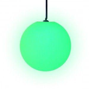 Шар подвесной светящийся LED, диам. 40 см., разноцветный (RGB), пылевлагозащита IP65, 220V