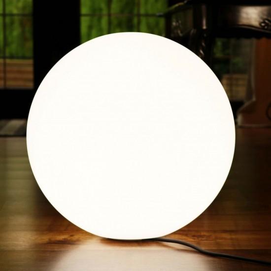 Шар светящийся LED, диам. 60 см., цвет тёплый или холодный белый, пылевлагозащита IP65, 220V