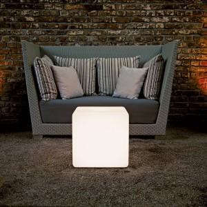 Светящийся куб LED Cube 60 см., одноцветный белый, IP65