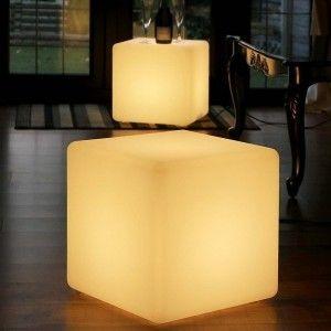 Светящийся куб LED Cube 50 см., одноцветный белый, IP65