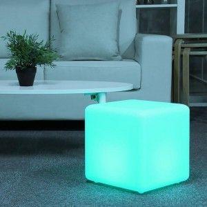 Куб светящийся беспроводной LED, 60*60*60 см., разноцветный (RGB), IP68, с аккумулятором