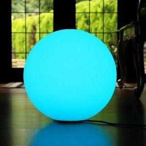 Светящийся шар LED Ball 50 см., разноцветный RGB, с пультом ДУ, IP65