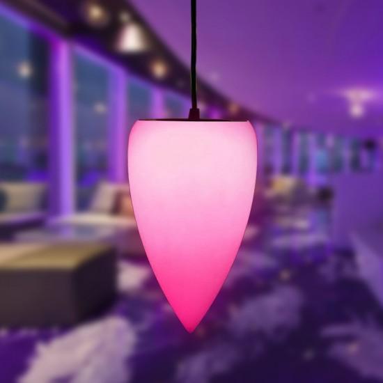 Светильник подвесной LED Conus, светодиодный, разноцветный (RGB), IP65