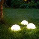 Полусфера светящаяся беспроводная LED, диам. 30 см., разноцветная (RGB), IP68, с аккумулятором
