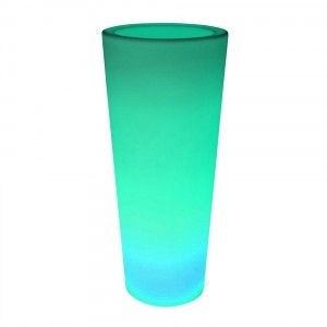 Кашпо светящееся (цветочница) LED Grace B, высота 140 см., светодиодное, разноцветное (RGB), IP65