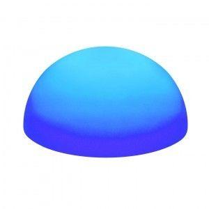 Полусфера светящаяся LED, 60*30 см., разноцветная (RGB), IP65, 220V