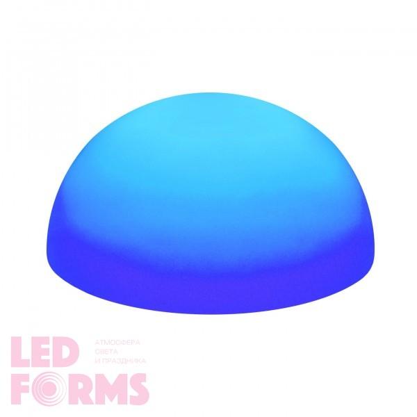 Светильник полусфера беспроводной LED HEMISPHERE 60 см. RGB с аккумулятором и пультом USB IP68 — Купить в интернет-магазине LED