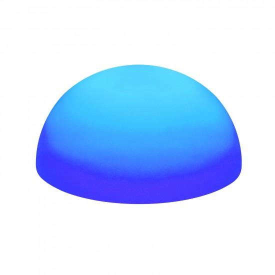Светильник полусфера беспроводной LED HEMISPHERE 50 см. RGB с аккумулятором и пультом USB IP68 — Купить в интернет-магазине LED