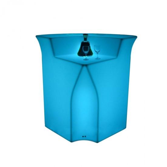 Барная стойка светящаяся (угловая секция) LED Royal, светодиодная, разноцветная RGB, IP65 — Купить в интернет-магазине LED Forms