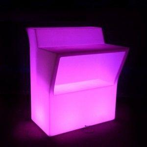 Барная стойка светящаяся (фронтальная секция) LED Royal, светодиодная, разноцветная (RGB), IP65