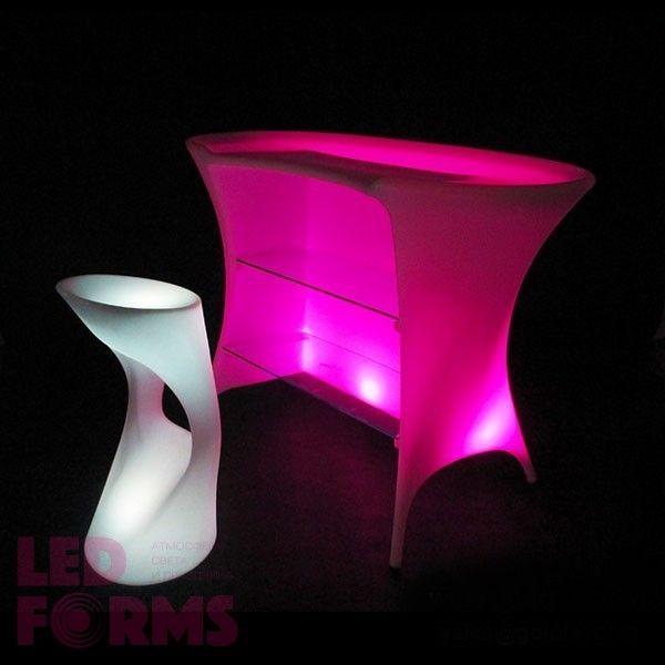 Барная стойка светящаяся LED Trendy, светодиодная, разноцветная (RGB), пылевлагозащита IP65