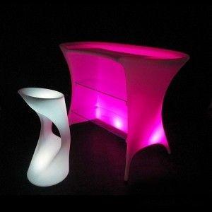 Барная стойка светящаяся LED Trendy, светодиодная, разноцветная (RGB), IP65