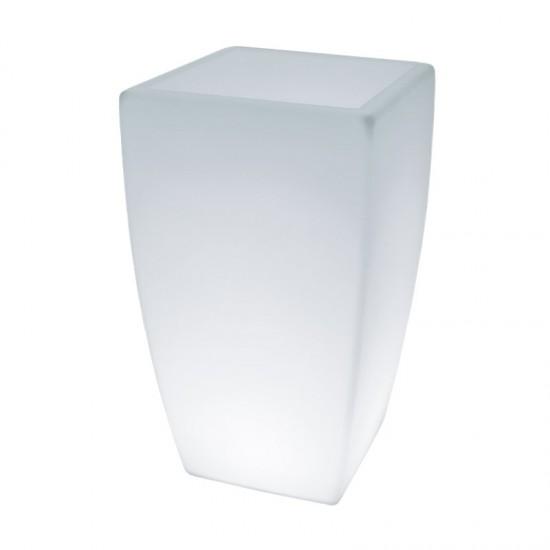 Кашпо светящееся LED Flox A, 50*50*90 см., светодиодное, цвет белый, 220V