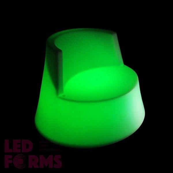 Кресло светящееся (светомебель) LED Almelo, светодиодное, разноцветное (RGB), пылевлагозащита IP65