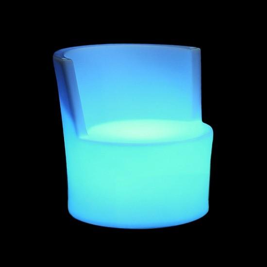 Стул светящийся LED ALMELO c разноцветной RGB подсветкой и пультом ДУ IP65 — Купить в интернет-магазине LED Forms
