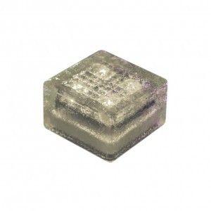 """Cветильник для тротуарной плитки """"Светодиодная брусчатка"""" LED Forms, 100*100*60 мм., IP68, белый, на солнечных батареях"""