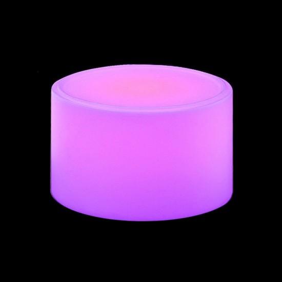 Столик кофейный светящийся (светомебель) LED Almelo, светодиодный, разноцветный (RGB), пылевлагозащита IP65