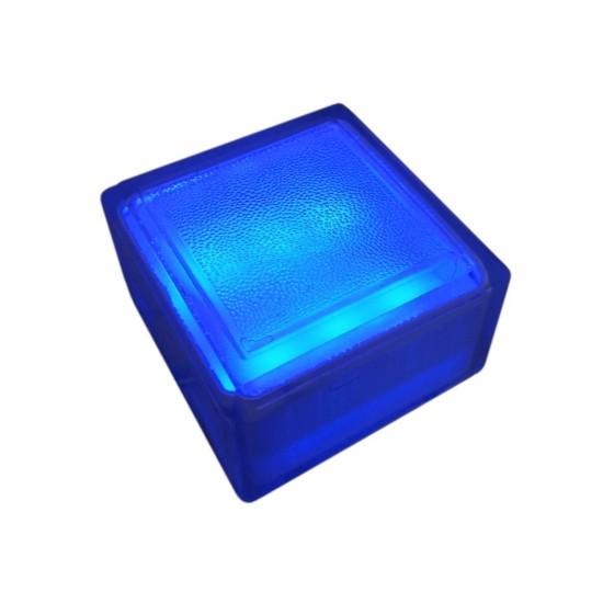 Светодиодная брусчатка LED LUMBRUS 100x100x60 мм. синяя IP68 — Купить в интернет-магазине LED Forms