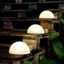 Светящаяся LED Полусфера 30 см., светодиодный светильник, белый свет, IP65
