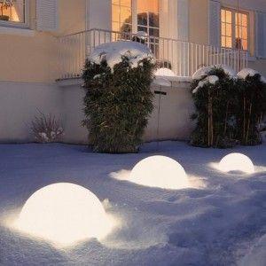 Полусфера светящаяся LED, диам. 60 см., цвет тёплый или холодный белый, IP65, 220V