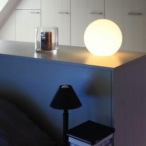 Cветильник шар LED MOONBALL 20 см. светодиодный белый IP65 220V — Купить в интернет-магазине LED Forms