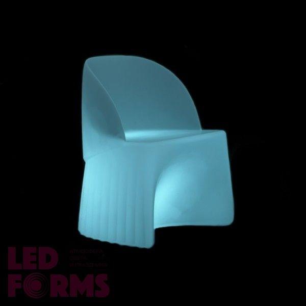 Кресло светящееся (светомебель) LED Waves 1, светодиодное, разноцветное (RGB), пылевлагозащита IP65