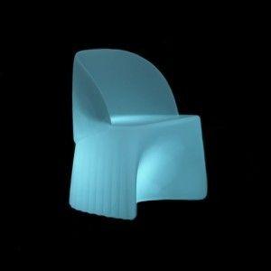 Кресло светящееся (светомебель) LED Waves 1, светодиодное, разноцветное (RGB), IP65