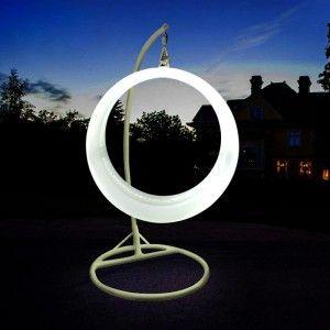 Качели светящиеся LED Ring, разноцветные (RGB), светодиодные, IP65, 220V