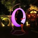 Качели светящиеся LED Ring, разноцветные (RGB), светодиодные, IP68, 220V