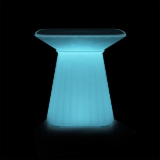 Cтол светящийся LED WAVES c разноцветной RGB подсветкой и пультом ДУ IP65 — Купить в интернет-магазине LED Forms